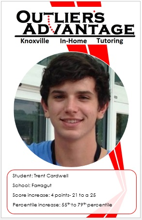 trent cardwell mini farragut high school ACT